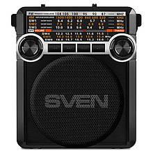 Радіоприймач Sven SRP-355 Black UAH