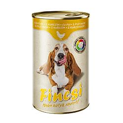 Консервований корм Fincsi для собак зі смаком птиці 1240 р