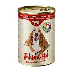 Консервований корм Fincsi для собак зі смаком яловичини 1240 р