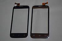 Оригинальный тачскрин / сенсор (сенсорное стекло) для Fly IQ4406 Era Nano 6 (черный цвет, самоклейка)