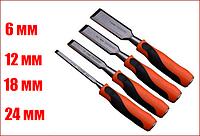 Набор стамесок ударных 4 шт, 6-12-18-24 мм ZIC 890-00