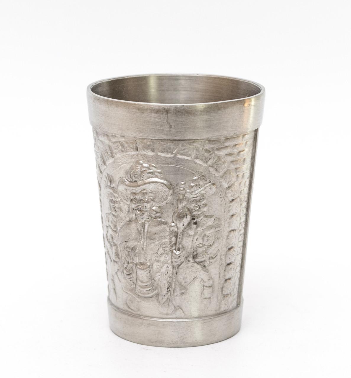 Винный оловянный бокал, Олово, Германия, 150мл