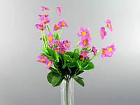 Букет /  Агростемма / 0,3 м / 28 цветков, 42 листа / Сиреневый 30x15x15 см