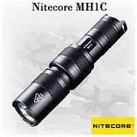 Светодиодный фонарик Nitecore MH1C, 6 режимов, 550 - 22 lm, USB зарядка