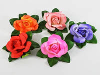 Роза / Цветок / d=17 / 21 лепесток / цвета в ассортименте 17x17x6 см
