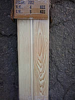 Двери гармошка глухая 81х203см сосна 7012, 810х2030х6мм, доставка по Украине