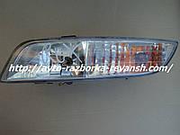 Фара противотуманка передняя левая  SsangYoung Rexton бу Рекстон