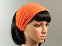 Повязка для Волос / Резинка / Однотонный / Оранжевый 29 см