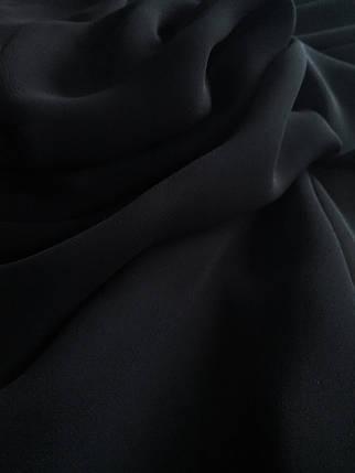Шифон черный, фото 2