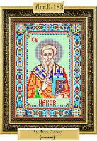 Схема для вышивки бисером «Святой апостол Иаков Зеведеев»