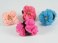 Цветок 2 стороны / Заколка Краб 8x8x8 см