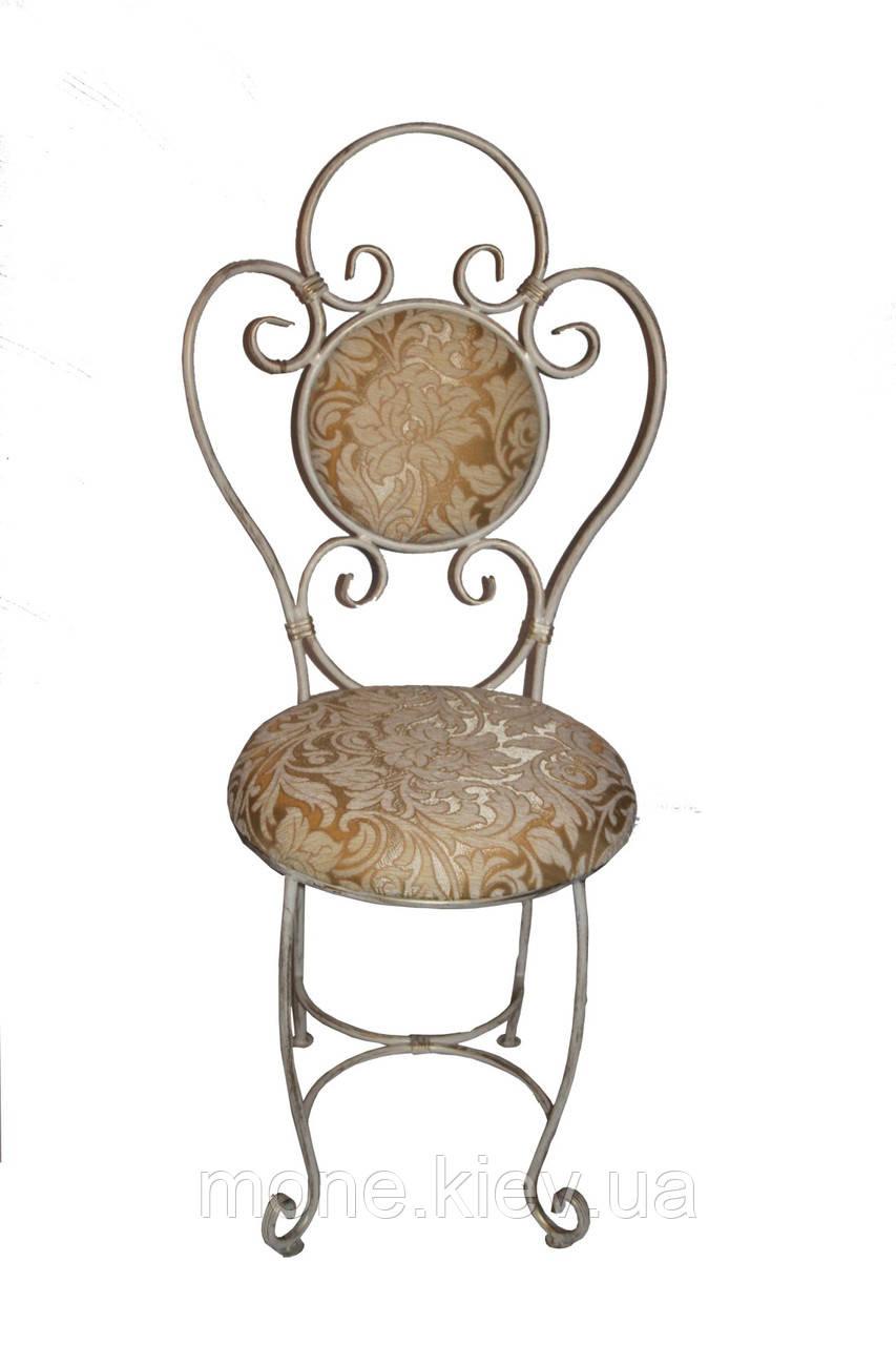 """Кований стул с мягко спинкой и сидушкой """"Грация"""""""