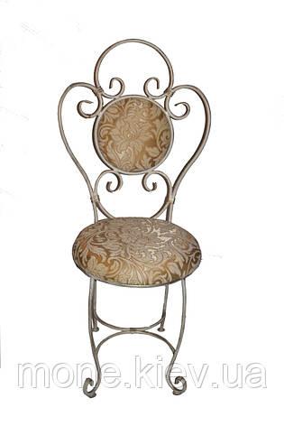 "Кований стул с мягко спинкой и сидушкой ""Грация"", фото 2"