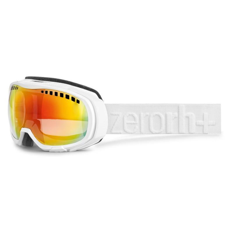 Горнолыжная маска ZeroRH+ Gara shiny white-matt white (MD)
