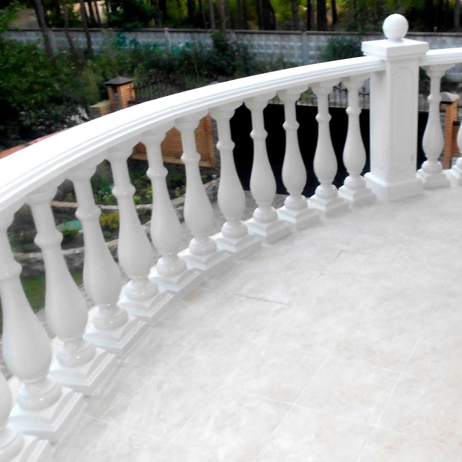 Перила (поручень) балюстрады для лестниц, террас и балконов (Per1.1)