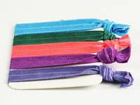 5 штук в наборе Пастельные цвета / Резинка для волос / Браслет 8x1 см