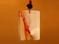 Амулет из сердолика / 54. Земля 3 см