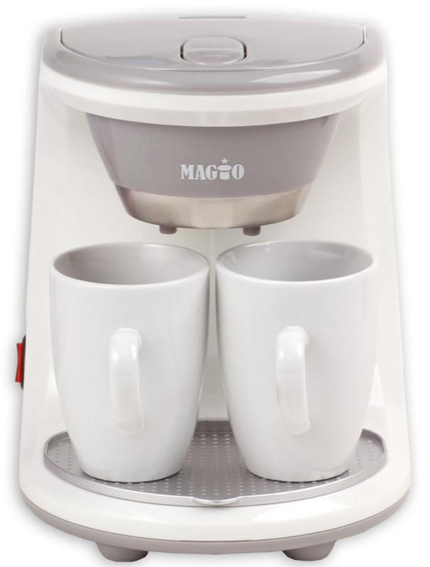 Кофеварка MAGIO МG-342, 450Вт, 2 чашки в комплекте