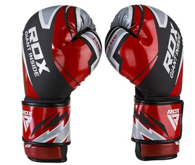 Боксерські рукавички  RDX Giant Inside, DX1245 розмір 10 унц. червоно-чорні