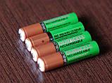 Аккумулятор DURACELL Recharge AAA/(HR03) 850mAh Ni-Mh 1.2v Мини-пальчиковая батарейка в Блистере, 4ШТ, фото 3