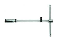 "Ключ свечной FORCE 807330020.6B 3/8"" Т-обр. с карданом 20.6 мм, L=300 мм (шарнир. фиксация)"