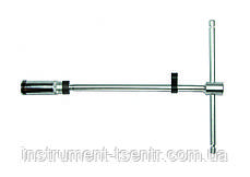 "Ключ свечной FORCE 807350020.6B 3/8"" Т-обр. с карданом 20.6 мм, L=500 мм (шарнир. фиксация)"