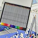 "Карандаши 24 цвета МАРКО 7100-24TN  ""Raffine"" метал. коробка    , фото 2"