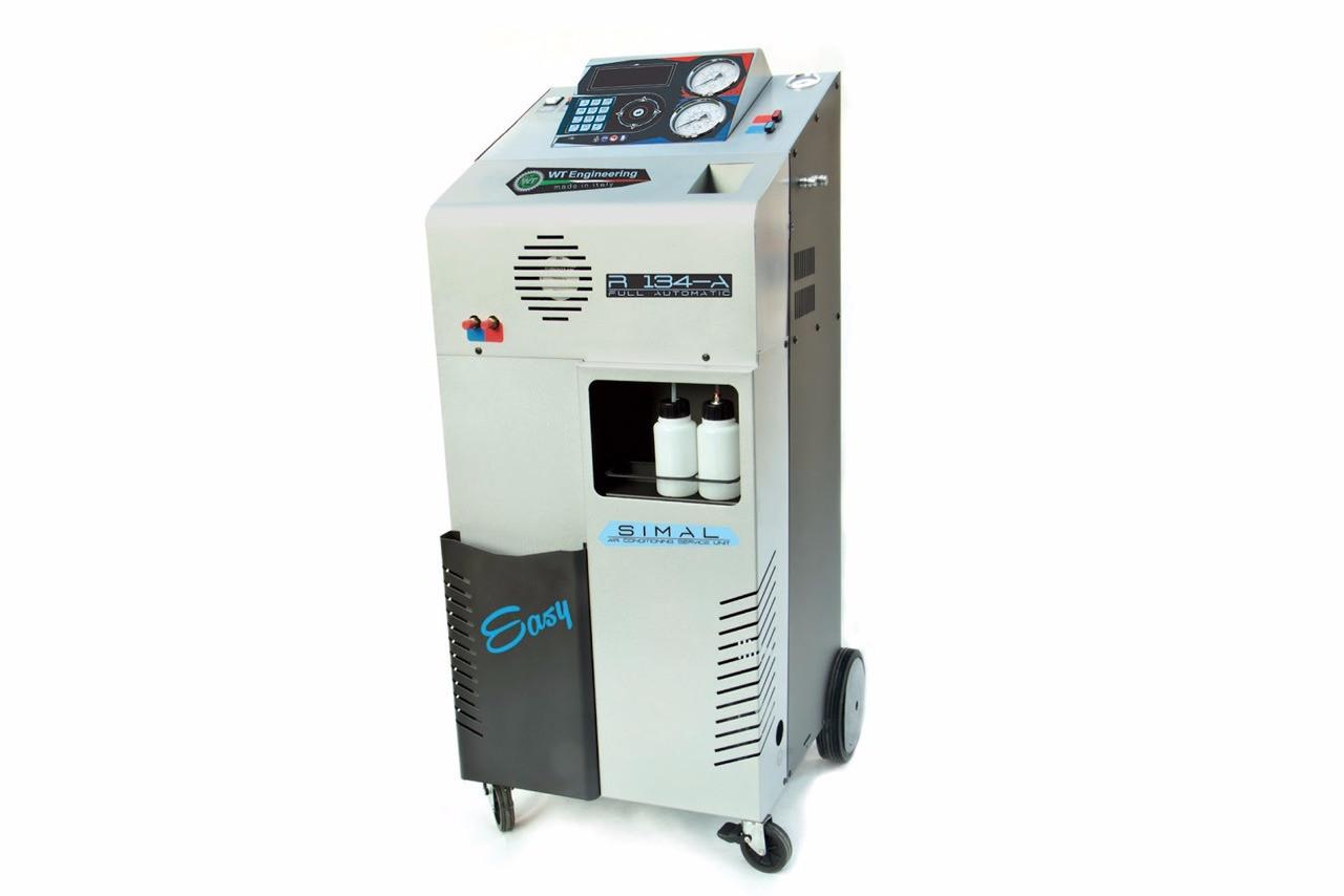 Установка автоматическая для заправки автомобильных кондиционеров SIMAL R-134 EASY - ToolGrand - автосервисное оборудование и инструмент в Харькове