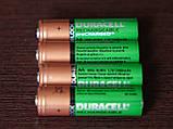 Аккумулятор DURACELL Recharge AA/(HR6) 2400mAh Ni-Mh 1.2v Пальчиковая батарейка в Блистере, 4ШТ, фото 3