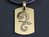 """Кулон """"Zodiacus Gold"""" / 09. Стрелец 3x2 см"""