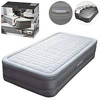Велюр кровать 64482 (2шт) с встроенным эл насосом 220В,