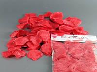 Лепестки роз Красный / Наполнитель Декоративный 3x2x1 см
