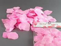 Наполнитель декоративный / Лепестки роз / Розовый 3x2x1 см