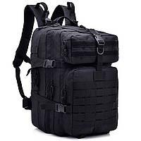 Армійський рюкзак тактичний чорний 50464, фото 1