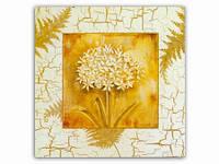 Цветы Кашка / Картина 15x15x1 см