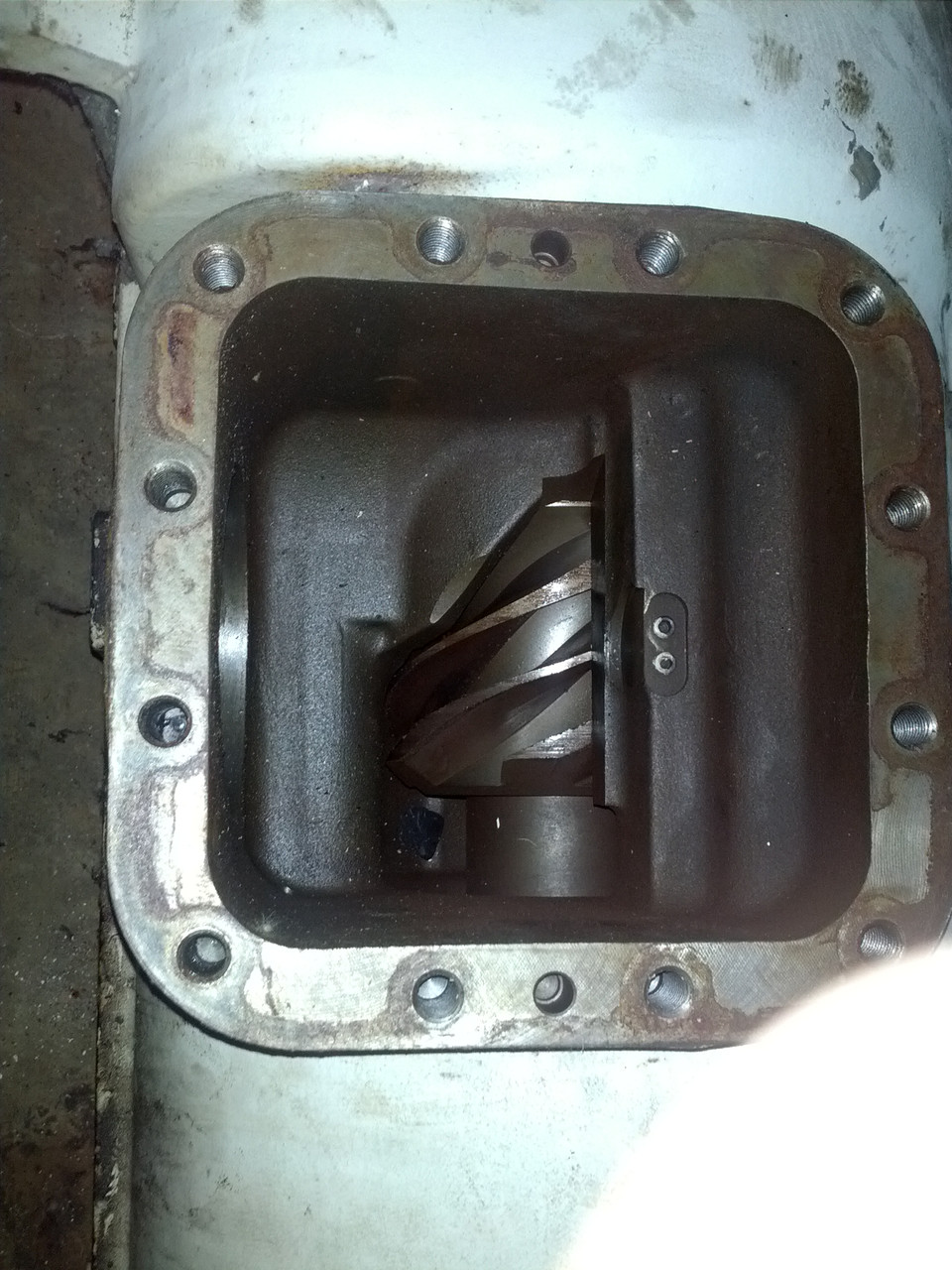 Ремонт винтового блока компрессора