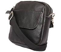Чоловіча шкіряна сумка 300157 чорна, фото 1