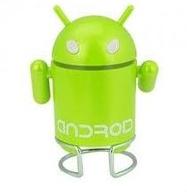 Портативный MP 3 плеер FM/USB робот Android. Mini Speaker.