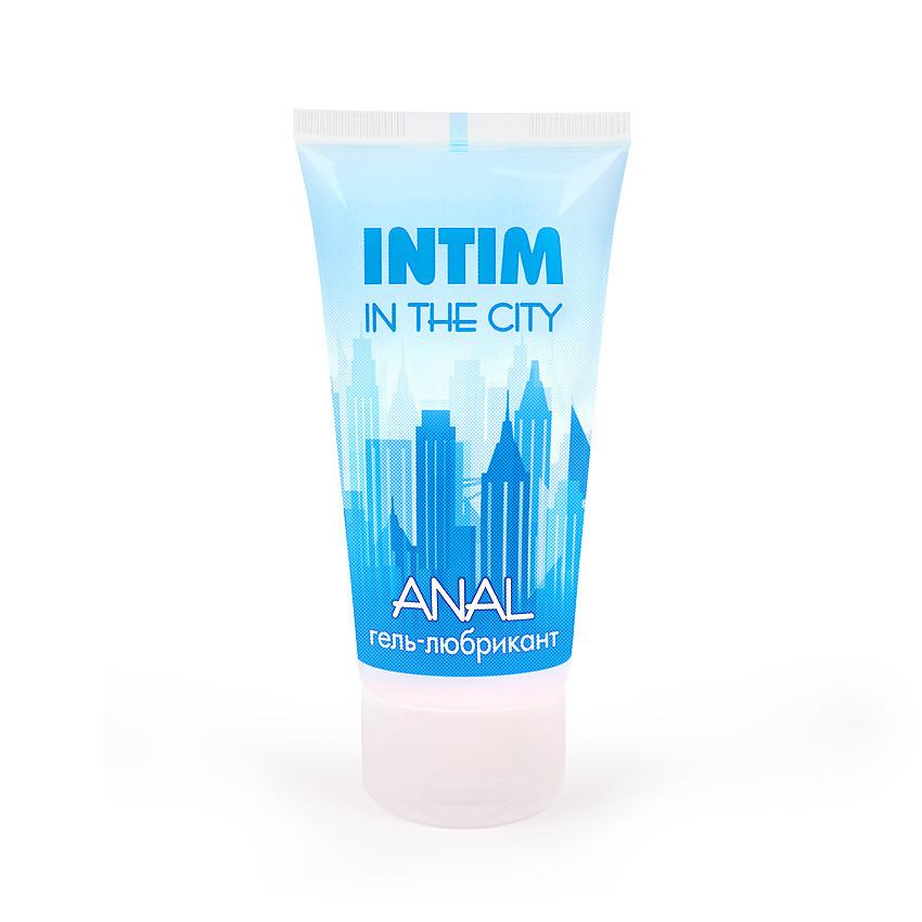 """Гель-любрикант анальная смазка на водной основе с антибактериальным эффектом """"Intim anal"""" туб пластиковый 60 г"""