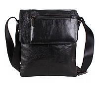 Чоловіча шкіряна сумка BL38032 чорна, фото 1