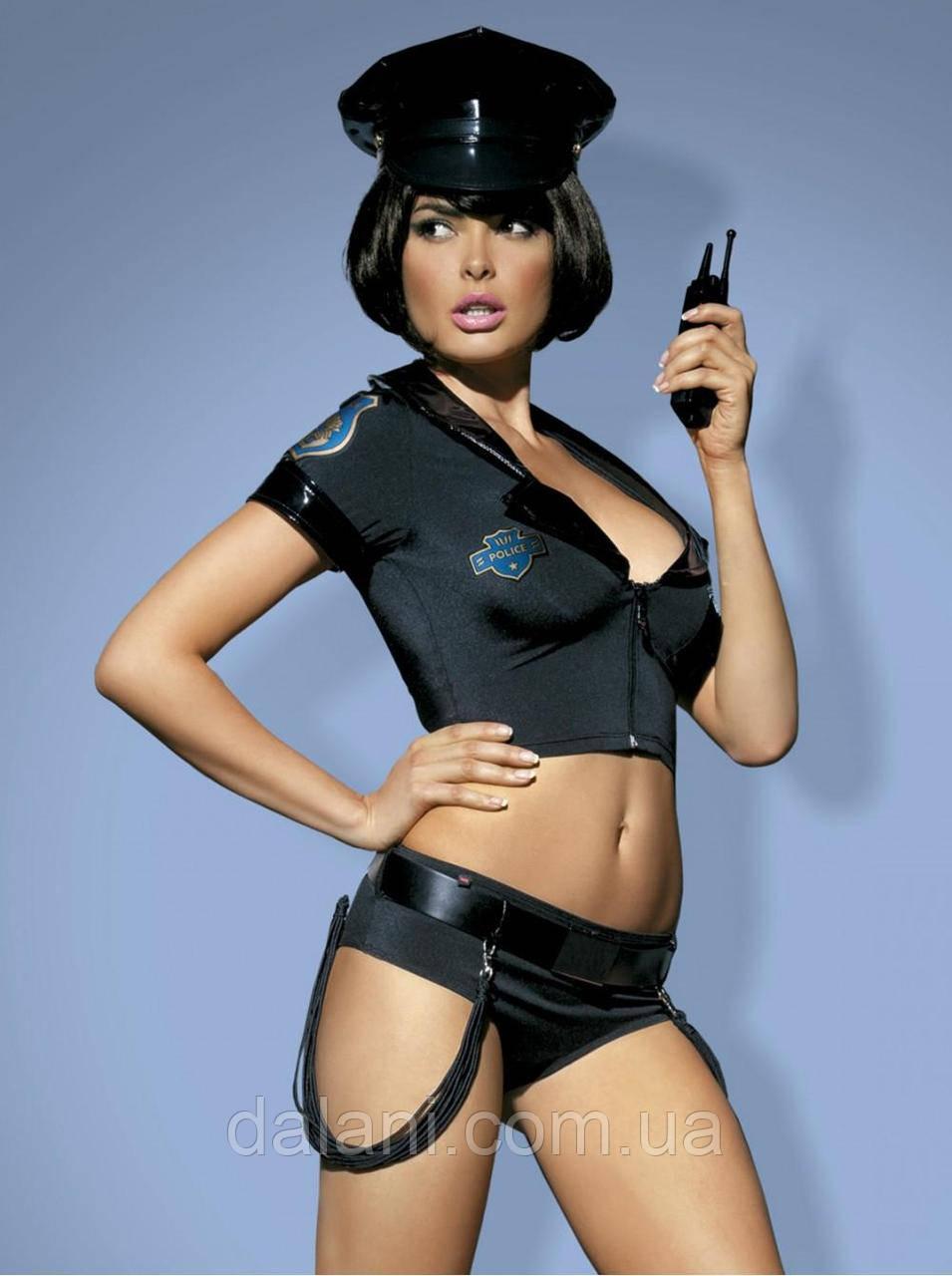 Жіночий костюм поліцейської для дорослих ігор
