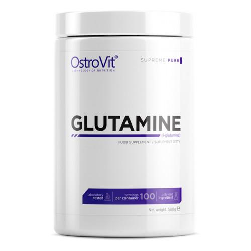 Глютамін Ostrovit L-Glutamine 500g. БЕЗ СМАКУ