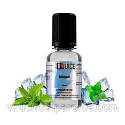 Ароматизатор T-juice Minted Concentrate 30 мл (Мята Ментол Холод)