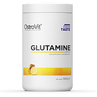 Глютамин Ostrovit L-Glutamine 500g. ЛИМОН