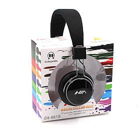Навушники бездротові з мікрофоном NIA Q8-851S BT