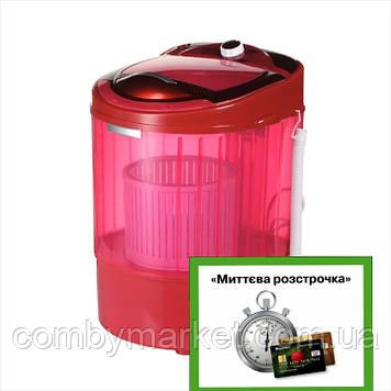 Стиральная машина с отжимом ViLgrand V135-2550 красная