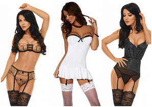Жіноча нижня білизна та еротичні аксесуари