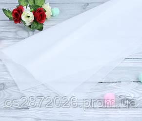 Бумага тишью (папиросная),белая.