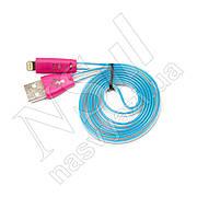 Кабель USB-Lightning смайлик