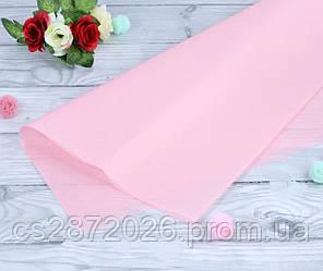 Бумага тишью (папиросная),светло-розовая.